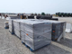 10 pallets wraped shelving could be double stacked