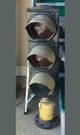 1- Antique traffic signal (45# 46x13x11)