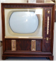 Vintage Philco Color TV Console