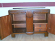 Antique Sideboard - 1930s  1940s - Cupboard - Shab