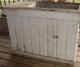 Antique rustic cabinet