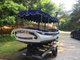 18 Foot Electric Boat with 2 axle trailer