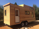 Tiny House fixed to utility trailer