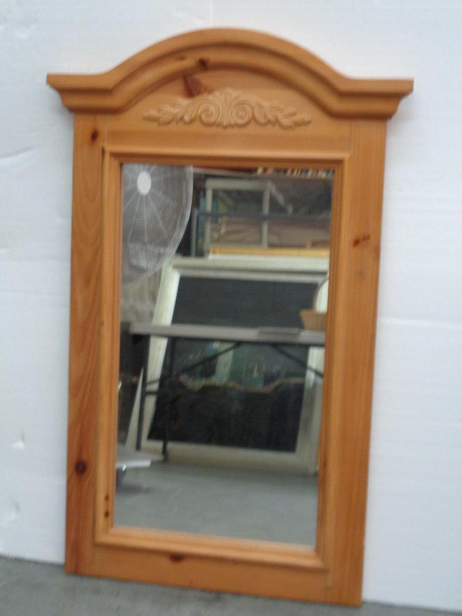 Cost To Ship A Broyhill Fontana Solid Pine Vertical Mirror Wappingers Falls Uship