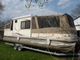 suntracker party cruise 32, pontoon boat on a trai
