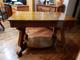 Antique Library Table Quarter Sawn Oak