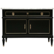 (15831192) Ebonized Mahogany Buffet with a Marble