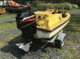 Mini speedboat with trailer and lift