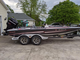 20 foot bass cat eyra on a tandem axle trailer wit