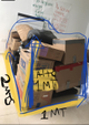 Cajas, maletas, bolsas Volumen ˜ 1x1x2mts
