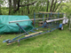 Boat Trailer Single Axle Tow Tag Along 2in Ball