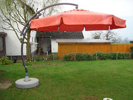 transport my sun garden easy sun parasol ampelschirm sonnensch to mainz. Black Bedroom Furniture Sets. Home Design Ideas