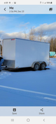 Cargo trailer moved to montana, loaded