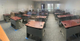 Lot of 27 desks and chairs