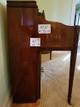 Console piano & bench plus 2 corner cabinets, sofa