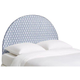 Blue and White Queen Headboard (345110-p1378962)