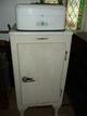 Antique Cast Iron General Electric Refridgerator p