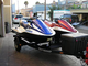 2 personal watercraft for transport and trailer