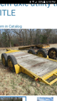 Bumper pull equipment trailer