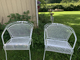 2 Patio Chairs Easy Driveway Pick up and Drop off