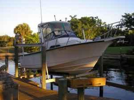 1993 boston whaler 23 ft