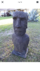 Large outdoor cement statues