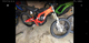 Surron electric bike, weight is 125 lbs