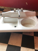 antique farm sink