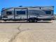 2016 Bumper Pull Toy Hauler for transport