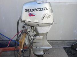 1997 honda bf45 four 4 stroke outboard motor