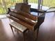 Vintage 1941 Wurlitzer Baby Grand Piano Burl Walnu