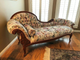 Vintage Antique Fainting couch chaise sofa