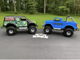 (2) Vintage mini monster truck Go Karts
