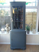 Shabby Chic Corner Cabinet Dresser ~ Painted in Fa