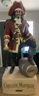 Huge 8ft Captain Morgan Statue Display Statue