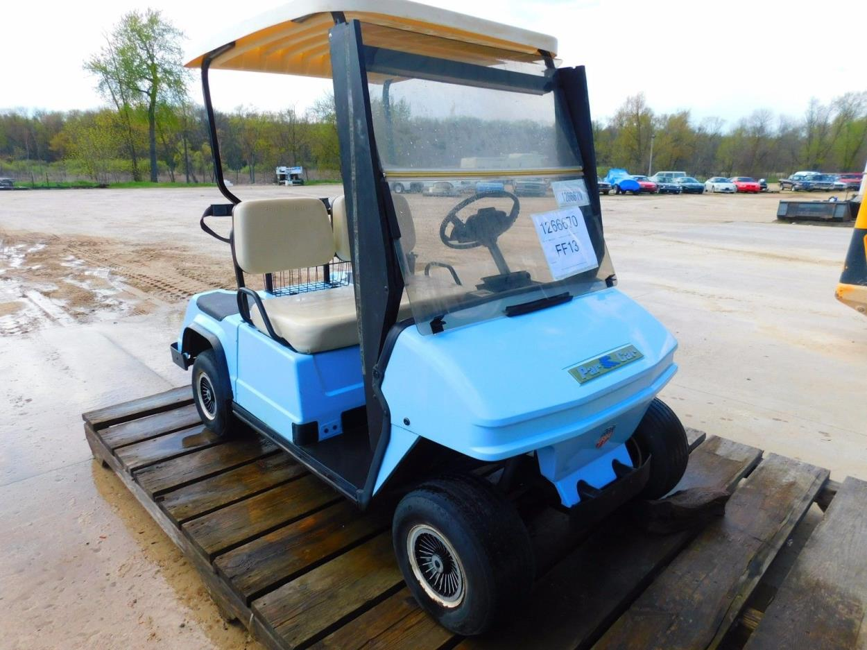 Ship My 1992 Columbia Par Car Golf Cart T1266670 To Fort