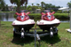 Two jet skis on a Traler