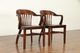 32536 & 32549 Group of FOUR Banker Chairs