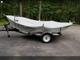 14.6ft Hyde Drift Boat on Trailer. Lightweight