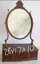2 small shaving mirrors see pics