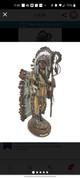 Bronze sculpture depicts Indian chief