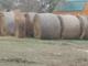 34 round bales of hay