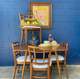 Mid-century table and 4 chairs