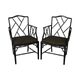 Pair of Black Arm Chairs (344994-p795123)