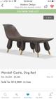 Wendell Castle dog bed