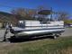 Omni 240 Cruiser Pontoon boat & trailer
