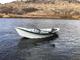 Drift boat on trailer