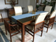 Henredon MCM dining room table with 6 chairs