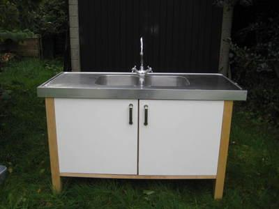 Transport My IKEA Varde Kitchen Double SInk Unit stainless ...