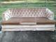 Hollywood Regency Tufted Sofa